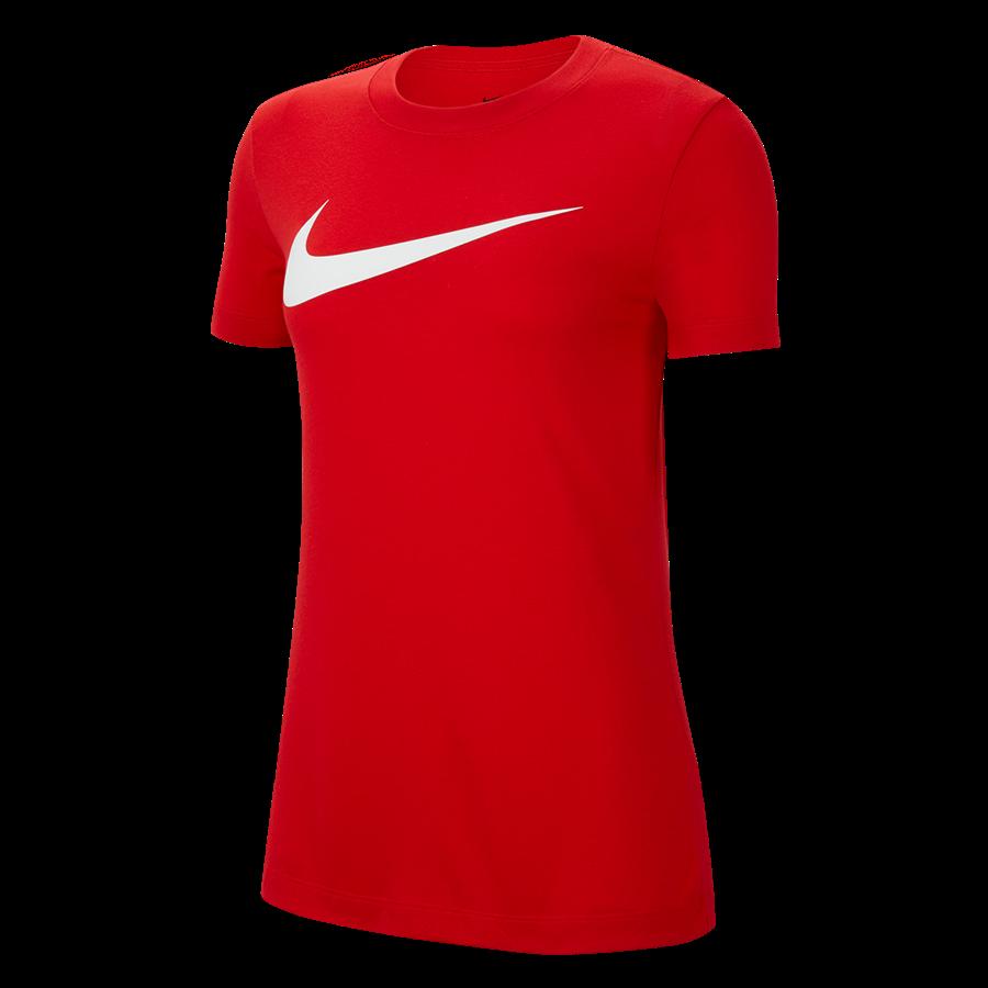 Nike Park 20 HBR női tréningpóló piros Kép 2