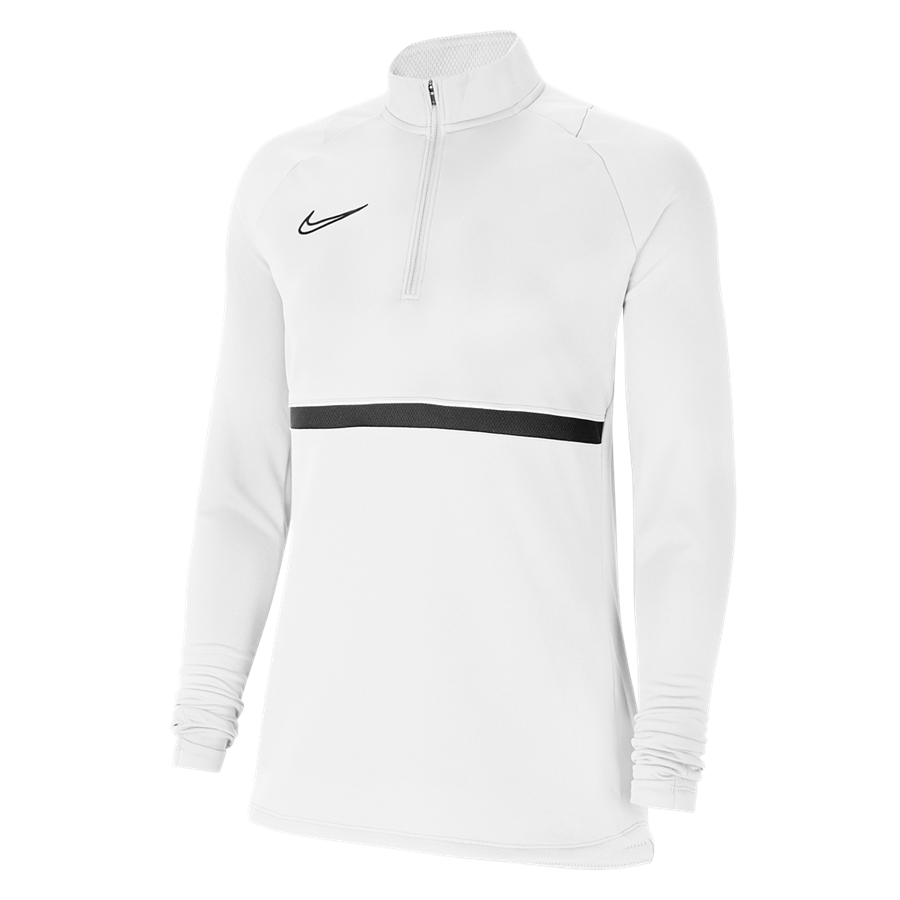 Nike Damen Trainingsoberteil Drill Top Academy 21 weiß Bild 2