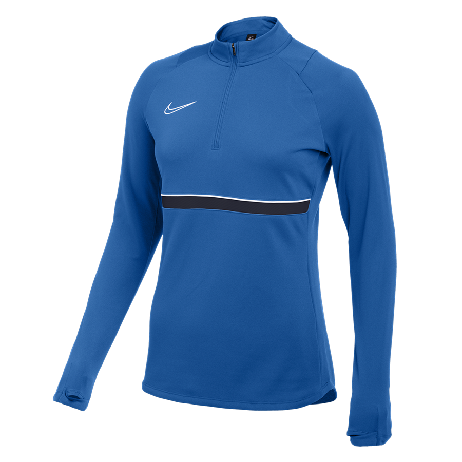 Nike Damen Trainingsoberteil Drill Top Academy 21 blau Bild 2