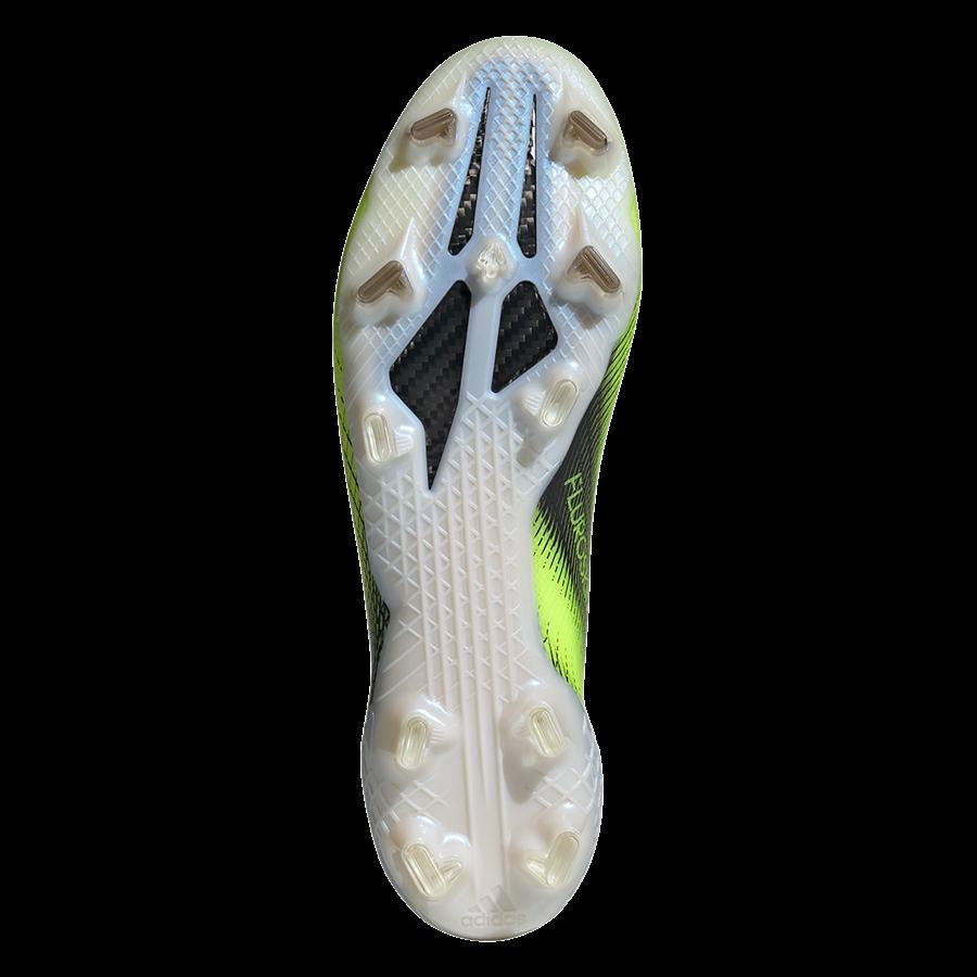 adidas Fußballschuh X Ghosted.1 FG gelb fluo/schwarz Bild 5