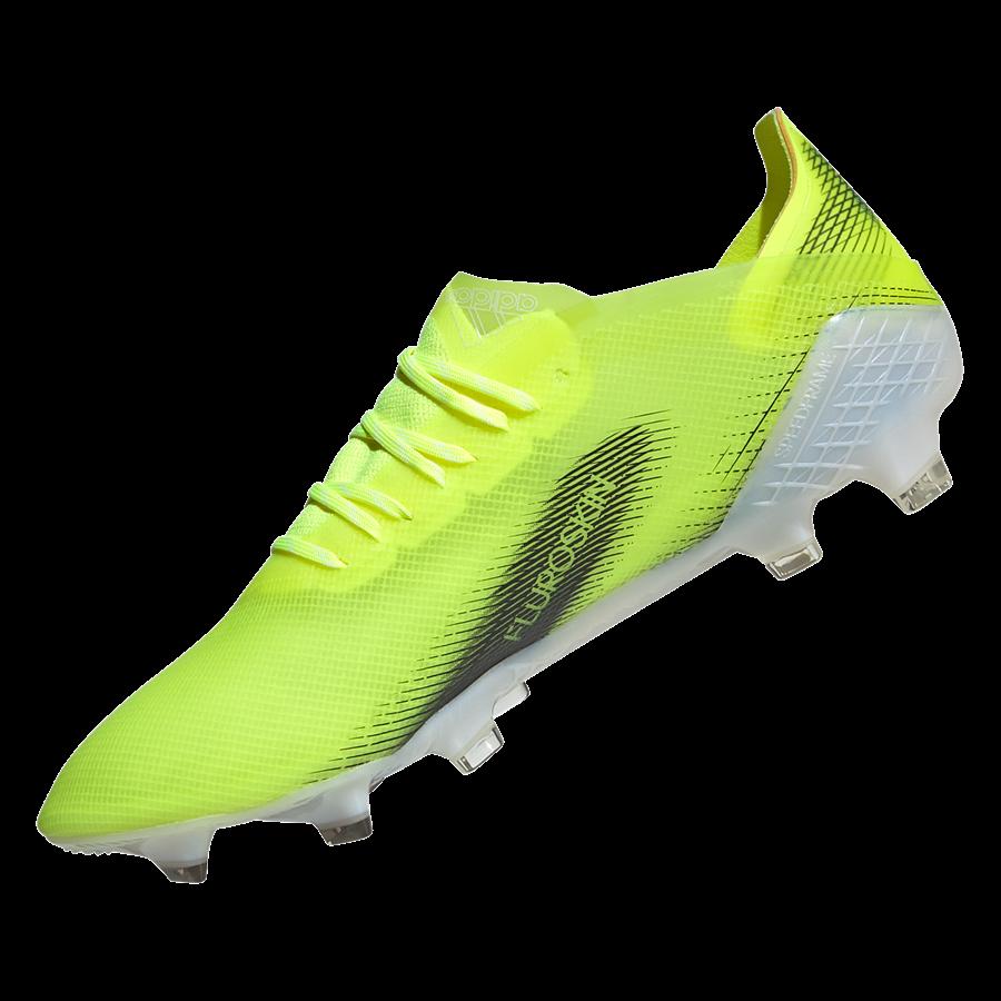 adidas Fußballschuh X Ghosted.1 FG gelb fluo/schwarz Bild 3