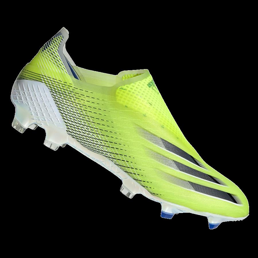 adidas Fußballschuh X Ghosted+ FG gelb fluo/schwarz Bild 2