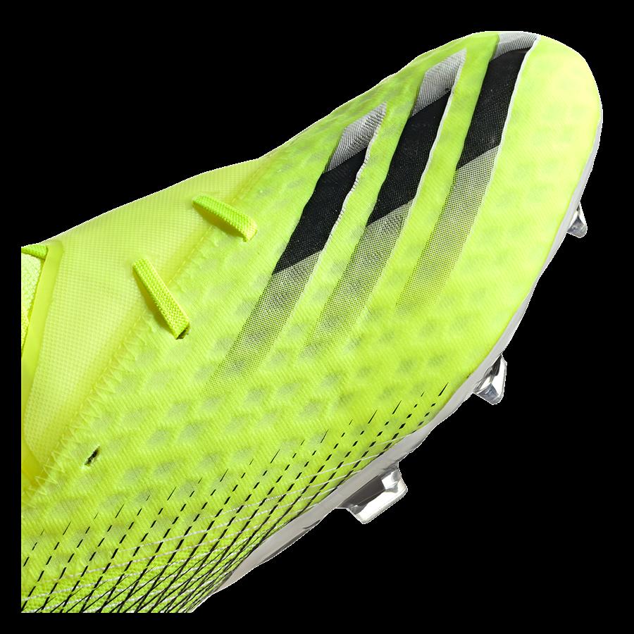 adidas Fußballschuh X Ghosted.2 FG gelb fluo/schwarz Bild 7