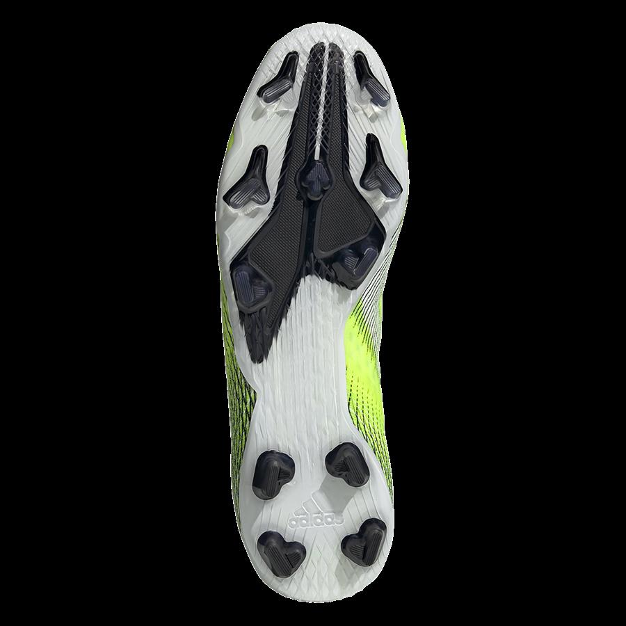 adidas Fußballschuh X Ghosted.2 FG gelb fluo/schwarz Bild 5
