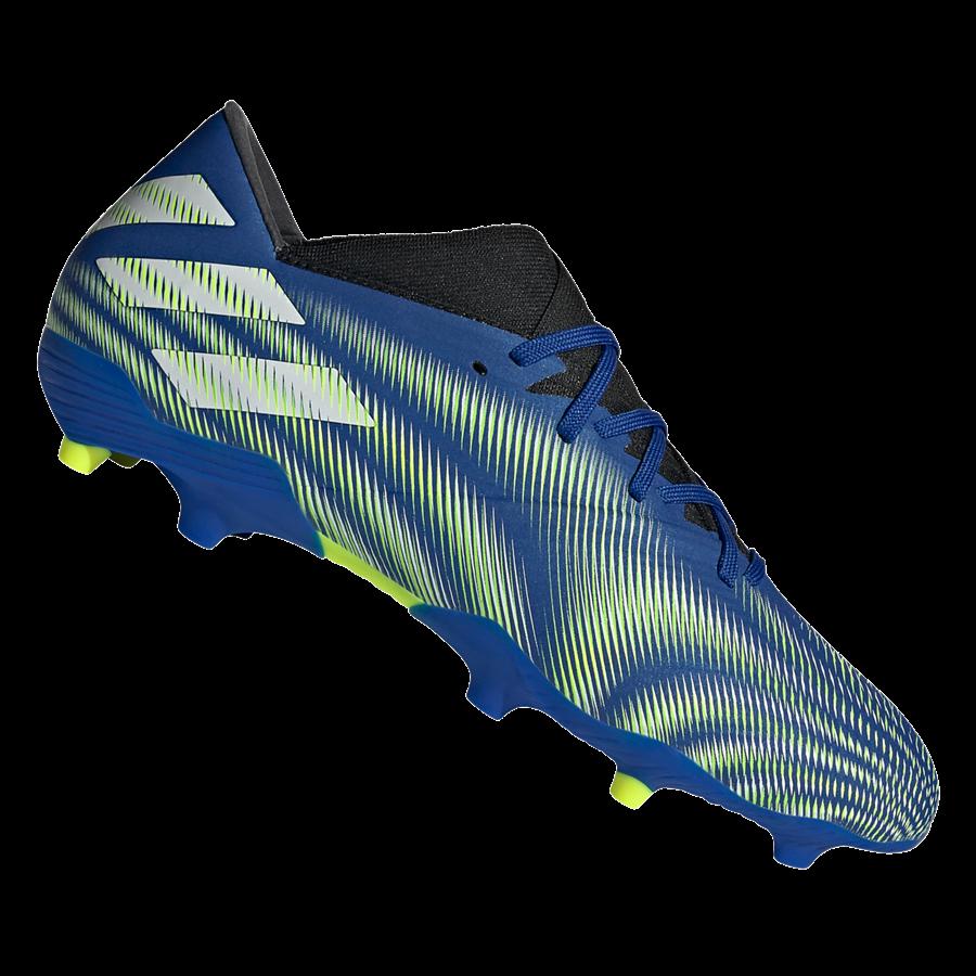 adidas Fußballschuh Nemeziz .2 FG dunkelblau/gelb fluo Bild 2