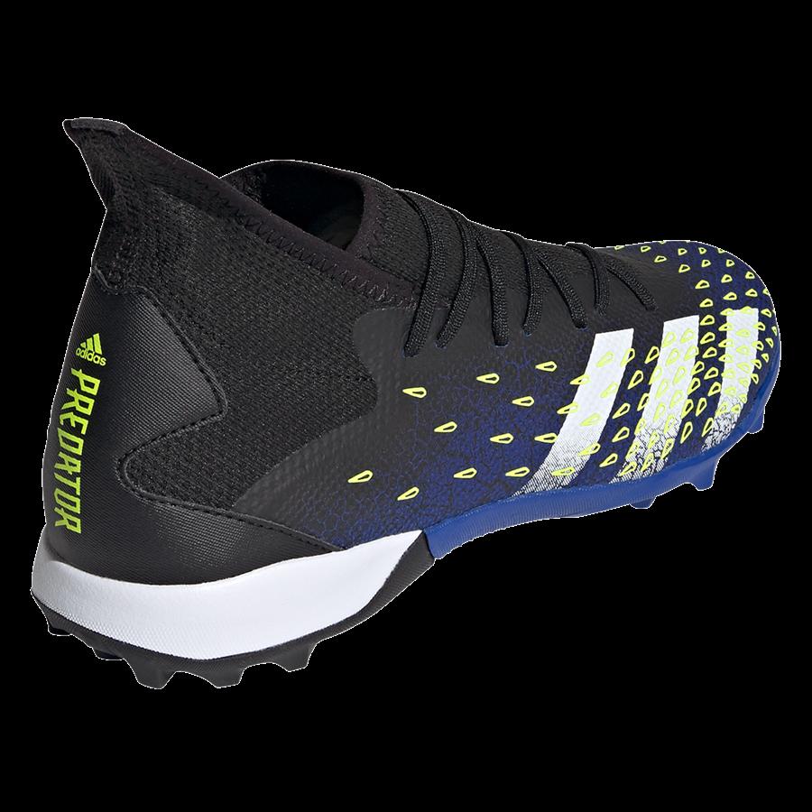 adidas Fußballschuh Predator Freak .3 TF Kunstrasen schwarz/gelb fluo Bild 10