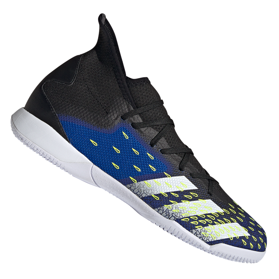 adidas Hallenschuh Predator Freak .3 IN schwarz/dunkelblau Bild 2
