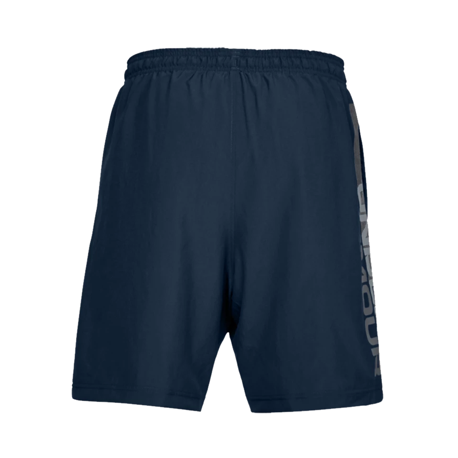 Under Armour Short Woven Graphic Wordmark dunkelblau Bild 3