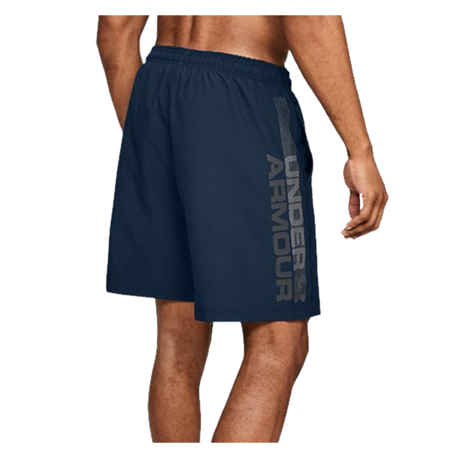 Under Armour Short Woven Graphic Wordmark dunkelblau Bild 5