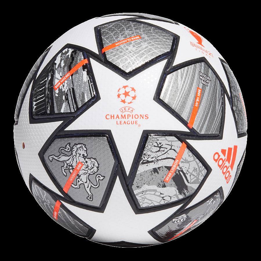 adidas Champions League Finale 2021 voetbal maat 5 wit/grijs Afbeelding 2