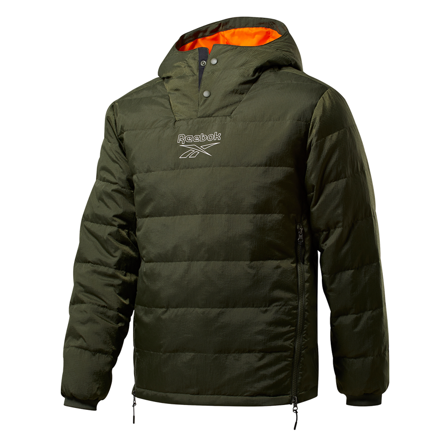 Reebok Outerwear Light Down Retro Jacket donsjas donkergroen Afbeelding 2