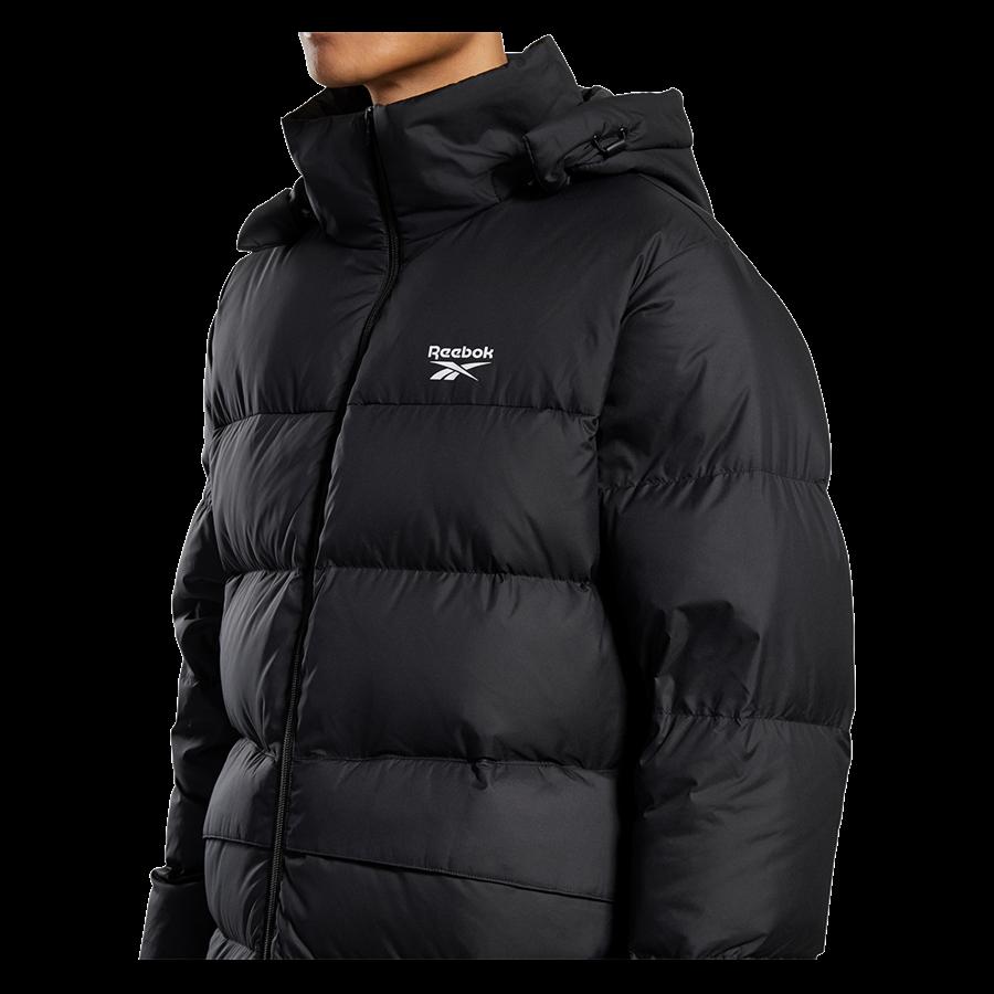 Reebok Daunenjacke Core Mid Down Jacket schwarz Bild 5