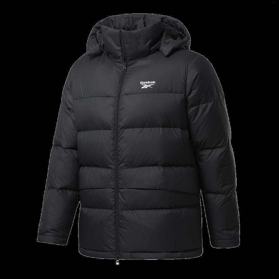 Reebok Daunenjacke Core Mid Down Jacket schwarz Bild 2