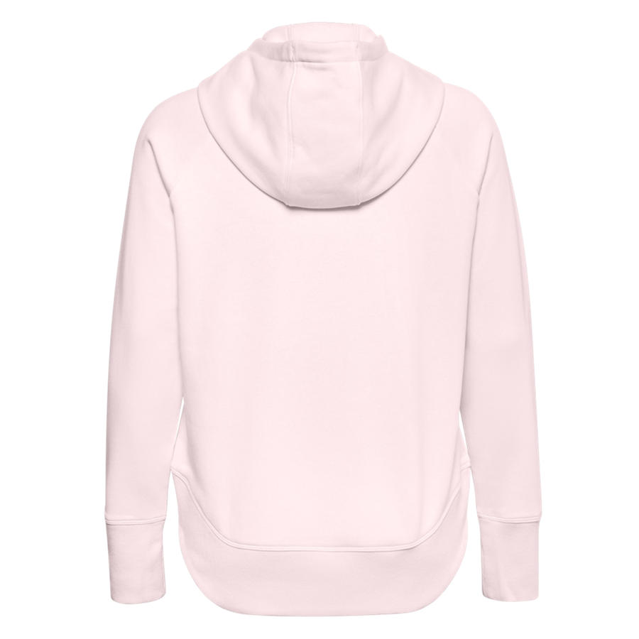 Under Armour Damen Kapuzenpullover Rival Fleece Metallic rosa Bild 3