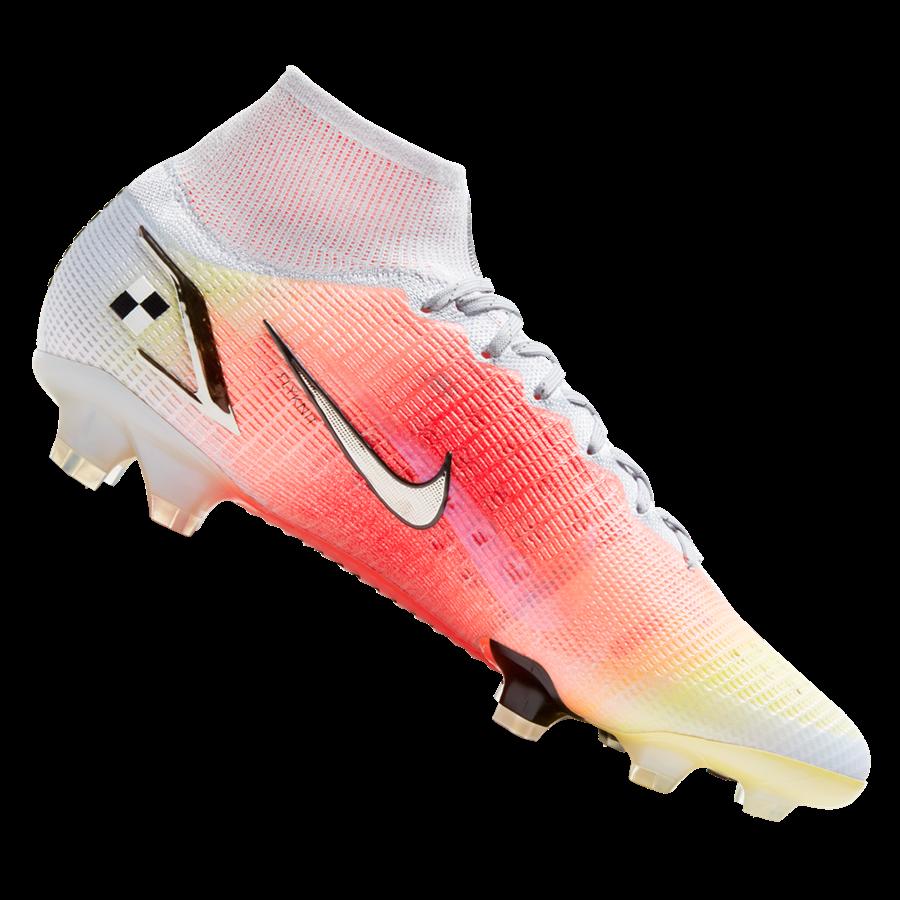 Nike Fußballschuh Mercurial Dream Speed Superfly VIII Elite MDS FG weiß/orange Bild 2