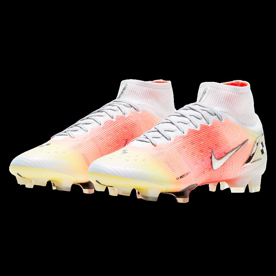 Nike Fußballschuh Mercurial Dream Speed Superfly VIII Elite MDS FG weiß/orange Bild 10