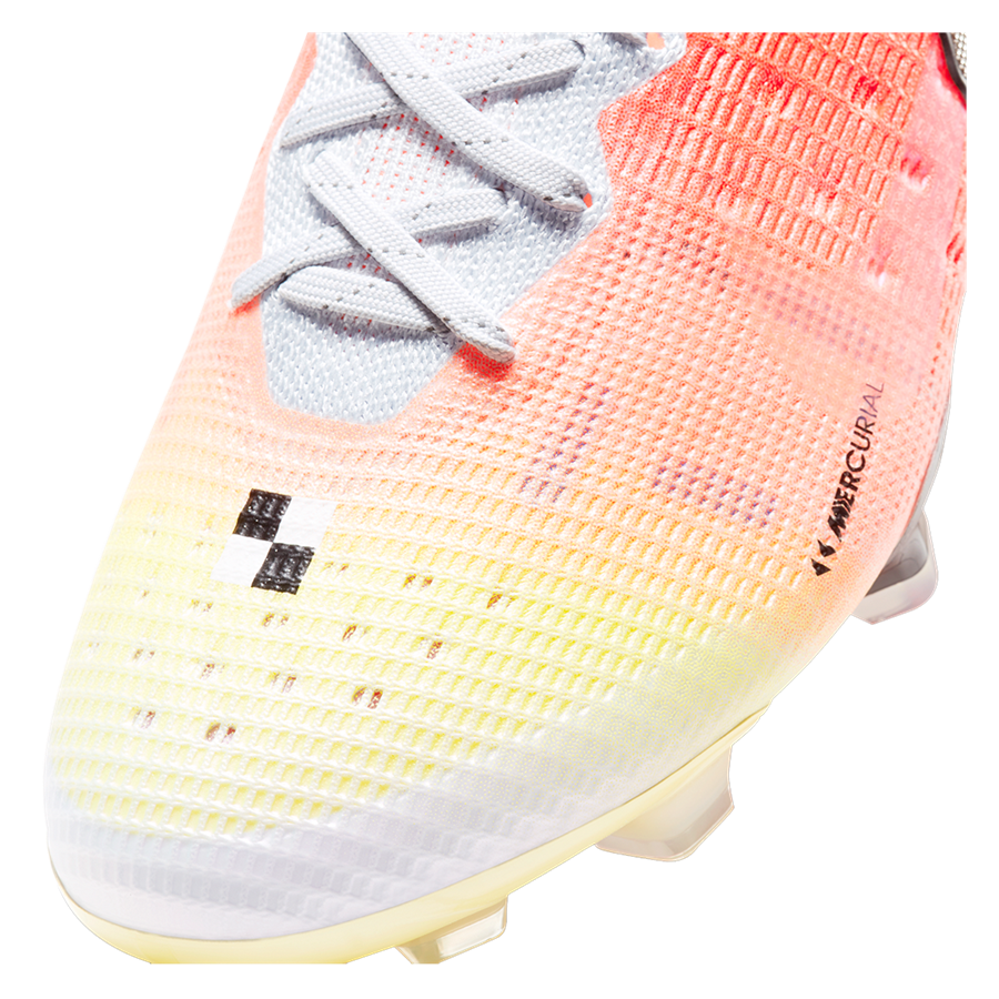 Nike Fußballschuh Mercurial Dream Speed Superfly VIII Elite MDS FG weiß/orange Bild 7
