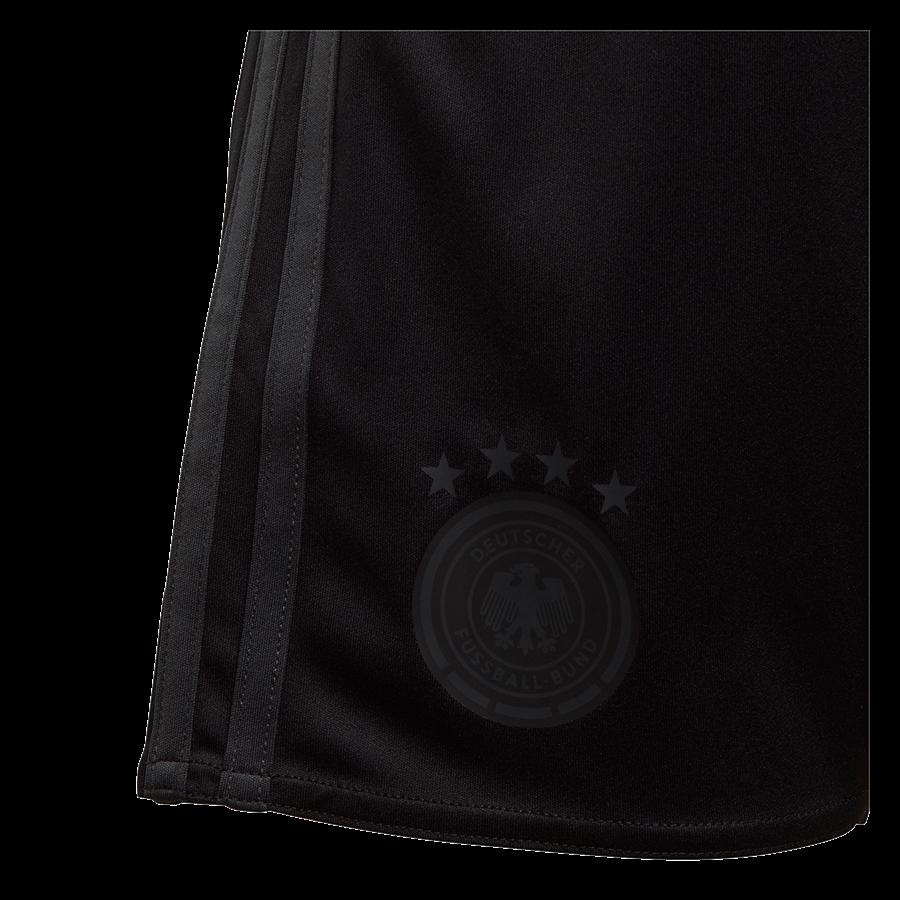 adidas Deutschland Kleinkinder Auswärts Kit EM 2020 schwarz/anthrazit Bild 6