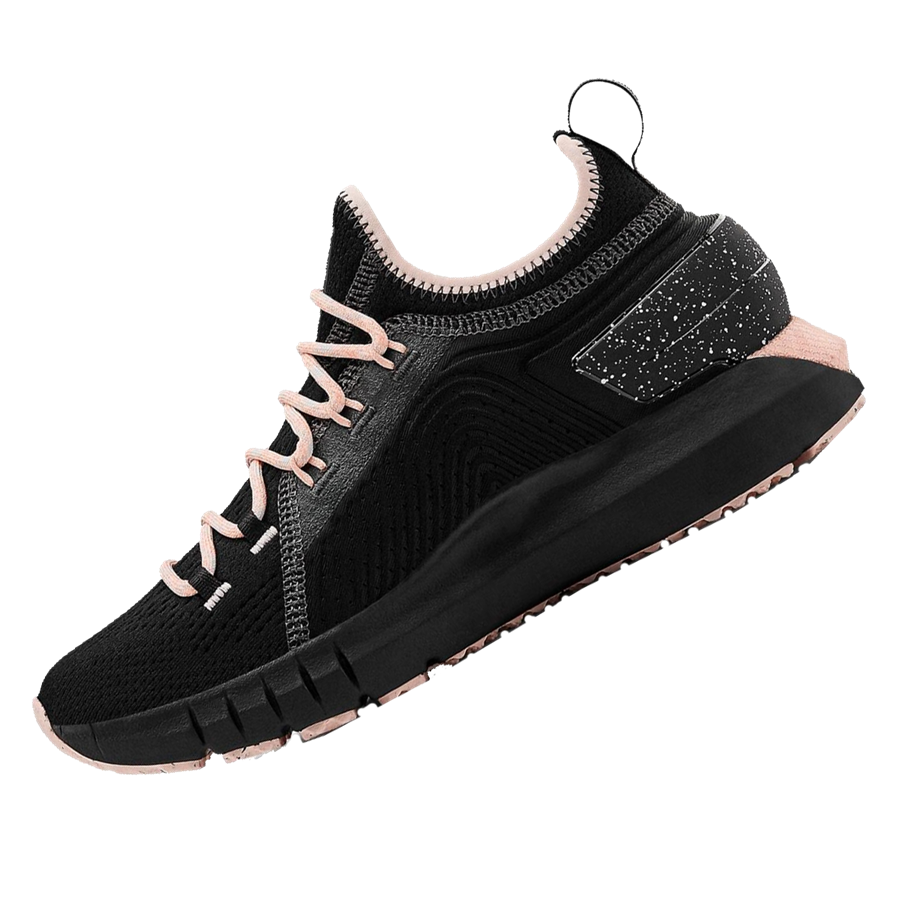 Under Armour Damen Laufschuh HOVR Phantom SE Trek schwarz/hellorange