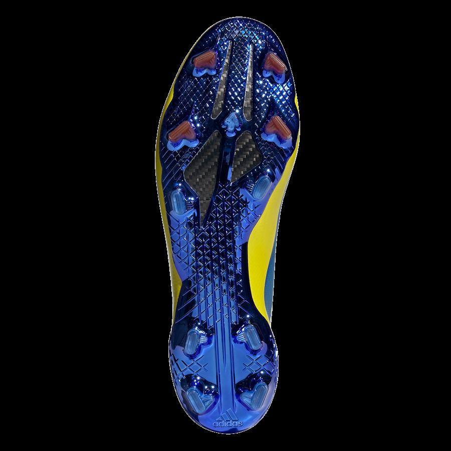 adidas Fußballschuh X Ghosted.1 FG blau/gelb Bild 5