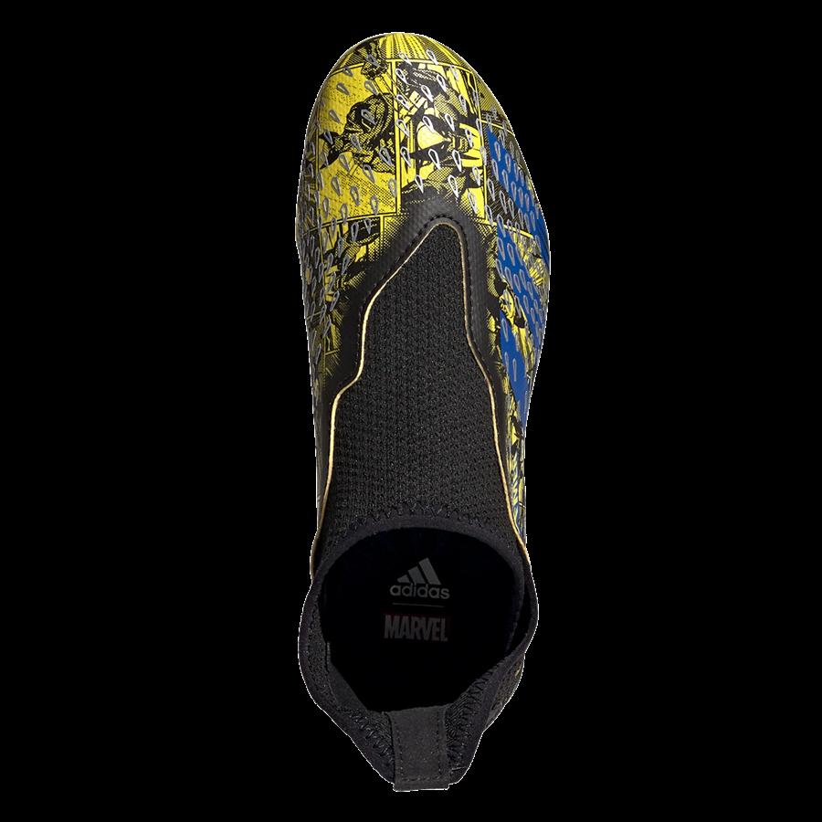 adidas Kinder Fußballschuh Predator Freak .3 LL FG gelb/blau Bild 4